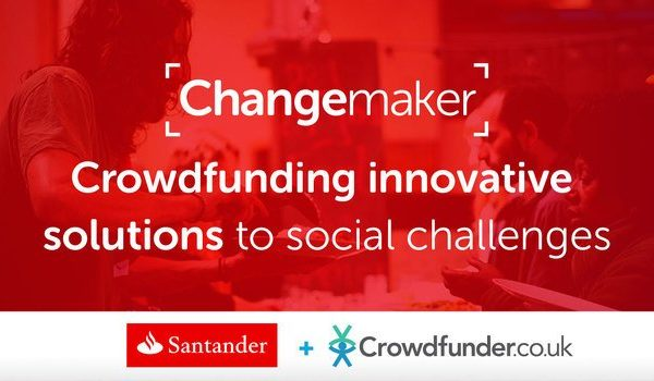 #InvestInHappy awarded Santander Changemaker grant