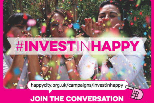Crowdfunding Success for #InvestinHappy