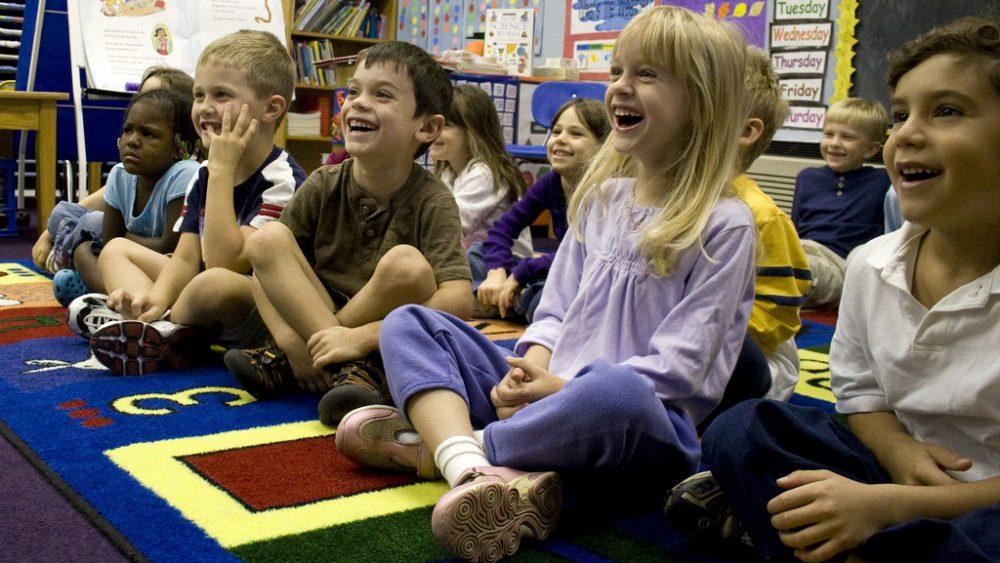 Happy Children in schools
