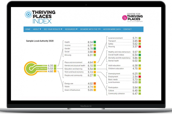 2020 Thriving Places Index data released